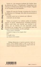Haltes Dans La Lumiere - 4ème de couverture - Format classique