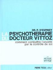 La psychothérapie du docteur Vittoz - Intérieur - Format classique