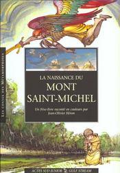 La naissance du mont saint michel - Intérieur - Format classique