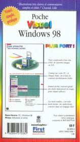 Windows 98, Plus Fort - 4ème de couverture - Format classique