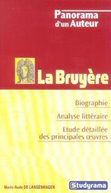La Bruyere - Intérieur - Format classique