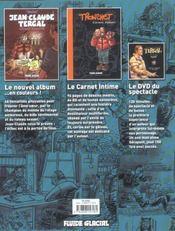 Tronchet ; le coffret-surprise en 2 volumes - 4ème de couverture - Format classique