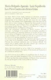 Pires Contes Des Freres Grim (Les) - 4ème de couverture - Format classique