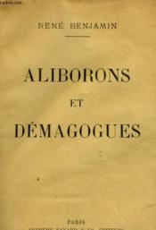 Aliborons Et Demagogues. - Couverture - Format classique