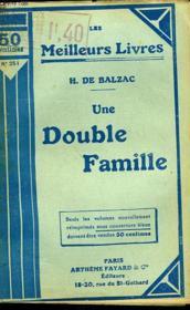 Une Double Famille - Couverture - Format classique