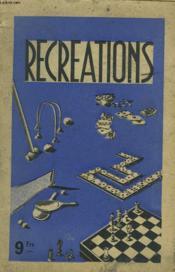 Recreations - Couverture - Format classique