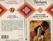 Un Ultime Geste D'Amour - A Rooted Sorrow - Couverture - Format classique