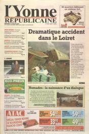 Yonne Republicaine (L') N°160 du 12/07/2000 - Couverture - Format classique