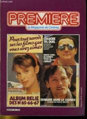Premiere Album N°22 - 3 Numeros Introuvables - Album Relie Des N°65 - 66 - 67 - Couverture - Format classique