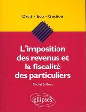 L'Imposition Des Revenus Et La Fiscalite Des Particuliers - Intérieur - Format classique