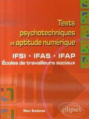Tests psychotechniques et aptitude numérique ; ifsi ifas ifap, écoles de travailleurs sociaux - Intérieur - Format classique