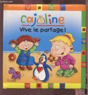 Cajoline ; vive le partage - Couverture - Format classique