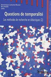Questions De Temporalite - Intérieur - Format classique