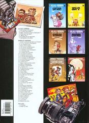 Le Petit Spirou T.6; N'Oublie Pas Ta Capuche - 4ème de couverture - Format classique