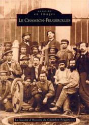 Le Chambon-Feugerolles - Couverture - Format classique