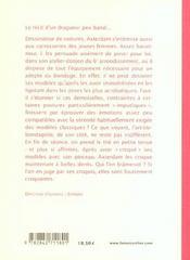 Carnets d'un obsede - 4ème de couverture - Format classique