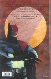Batman : absolution - 4ème de couverture - Format classique