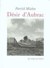 Desir D'Aubrac - Intérieur - Format classique
