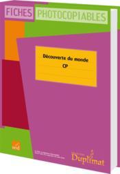 Duplimat ; Cp ; Découverte Du Monde - Couverture - Format classique