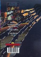 Arms t.2 - 4ème de couverture - Format classique