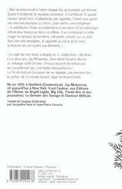 Fin De Tout (La) - 4ème de couverture - Format classique