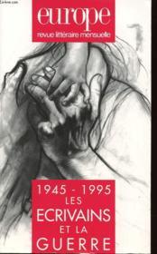 No 796/797 - Aout/Septembre 1995 - Les Ecrivains Et La Guerre - Couverture - Format classique