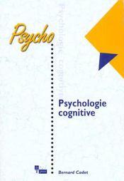 La Psychologie Cognitive - Intérieur - Format classique