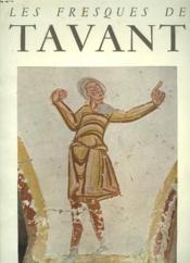 Les Fresques De Tavant. La Crypte. - Couverture - Format classique