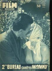 FILM COMPLET N° 653 - 2ième BUREAU CONTRE INCONNU - Couverture - Format classique