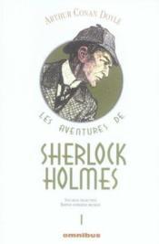Les aventures de Sherlock Holmes t.1 - Couverture - Format classique