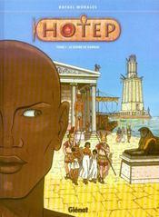Hotep t.1 ; le scribe de Karnak - Intérieur - Format classique