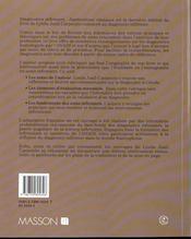 Diagnostics infirmiers - 4ème de couverture - Format classique