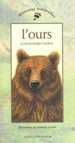 L'ours - Intérieur - Format classique