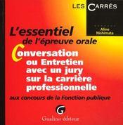 Conversation Entretien Avec Jury Concours Fp - Intérieur - Format classique