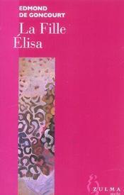 La Fille Elisa - Intérieur - Format classique