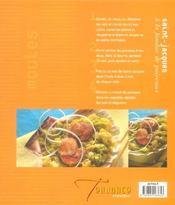 Moules Et Coquillages - 4ème de couverture - Format classique