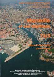 Carte Archeologique De La Gaule T.13/3 ; Marseille Et Ses Alentours - Couverture - Format classique