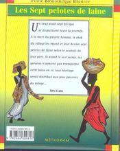 Les Sept Pelotes De Laine - 4ème de couverture - Format classique