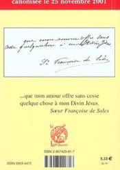Sainte leonie - 4ème de couverture - Format classique