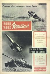 Pour Vous Monsieur N°218 du 01/06/1964 - Couverture - Format classique