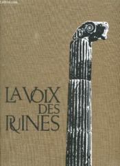 La Voix Des Ruines. - Couverture - Format classique