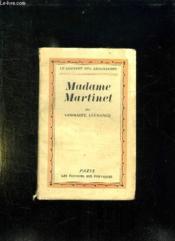 Madame Martinet. - Couverture - Format classique