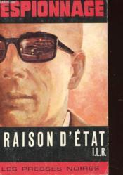Raison D'Etat - Couverture - Format classique