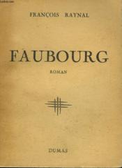 Faubourg - Couverture - Format classique