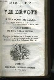 Introduction A La Vie Devote - Couverture - Format classique