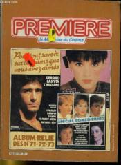 Premiere Album N°24 - 3 Numeros Introuvables - Album Relie Des N°71 - 72 - 73 - Couverture - Format classique