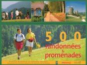 Vente livre :  Coffret 500 randonnees & promenades en france  - Collectif