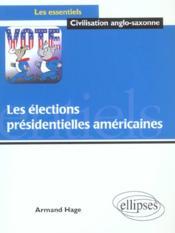 Les élections présidentielles américaines - Couverture - Format classique