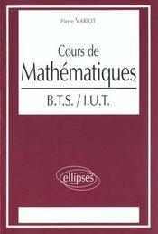 Cours De Mathematiques Bts Iut - Intérieur - Format classique