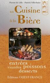 La Cuisine A La Biere - Couverture - Format classique